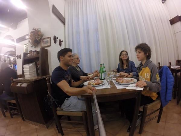 Cena en compañía de Barbara Rosseti