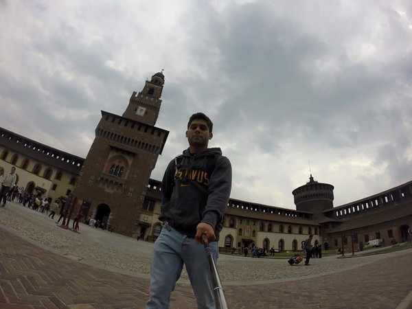 Castello Sforzesco.  Milan, Italia
