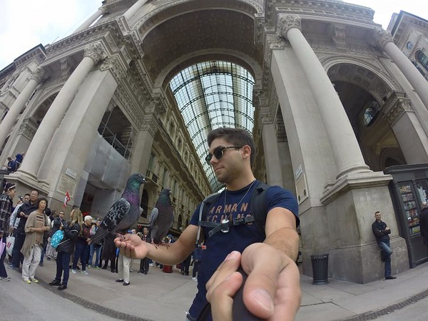 Milan, Italia.  Piazza Duomo