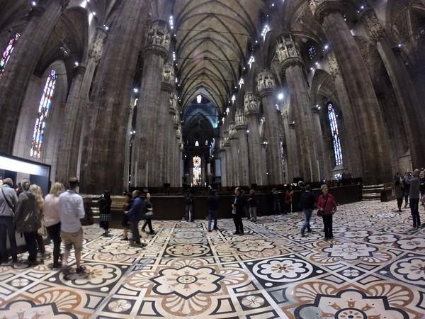 Milan, Italia.  Il Duomo